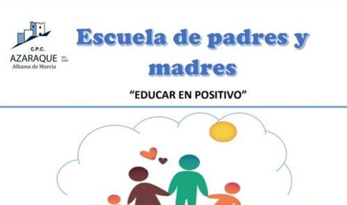 Escuela de padres y madres en el Colegio Azaraque